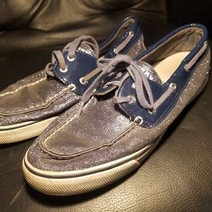Glitter Sperry Boat Shoes